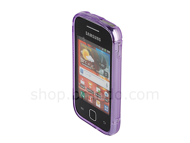 Samsung Galaxy Y S5360 Wave Plastic Back Case