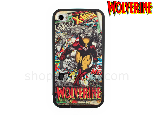 Case Design phone case bike mount : ... 4S Marvel Comics Heroes - Wolverine Phone Case (Limited Edition