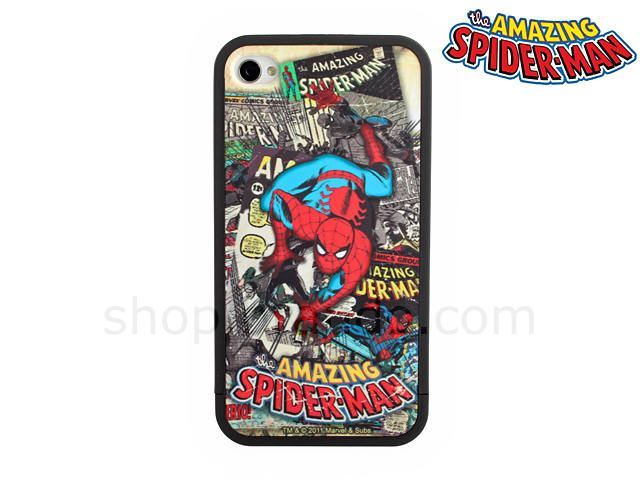 Car Cell Phone Holder ... 4S Marvel Comics Heroes - Spider Man Phone Case (Limited Edition