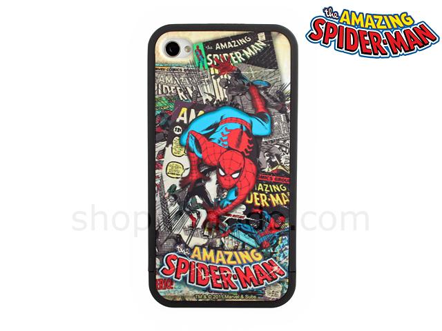 Iphone 4 4s Marvel Comics Heroes Spider Man Phone Case