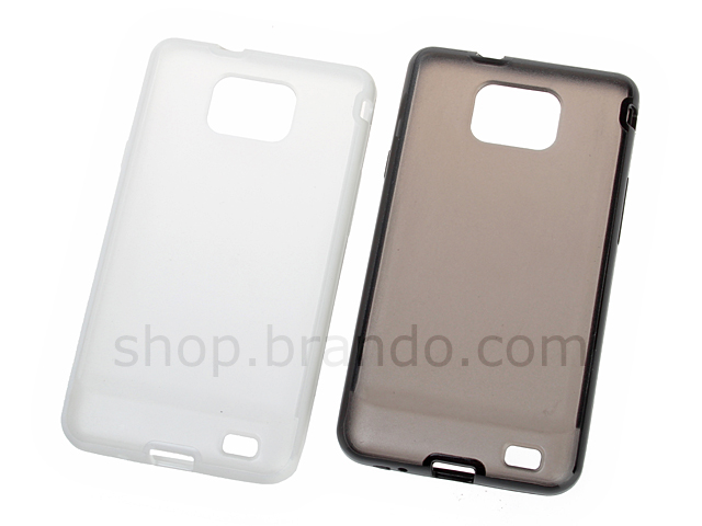Samsung Galaxy S II See Through Case with Rubber Lining