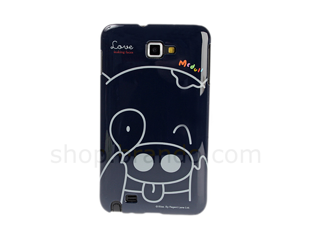 Samsung Galaxy Note Mcdull Love Making Faces Back Case (Limited Edition)