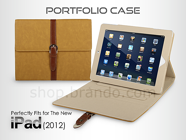 Portfolio Case for The new iPad (2012)