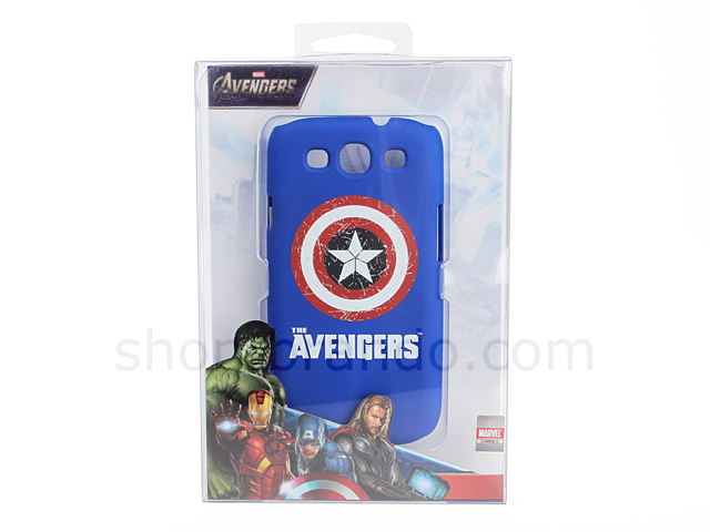 Samsung Galaxy S Iii I9300 Marvel The Avengers Captain