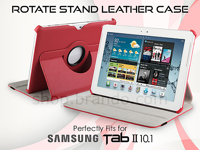 Samsung Galaxy Tab 2 10.1 GT- P5100/P5110 Rotate Stand Leather Case