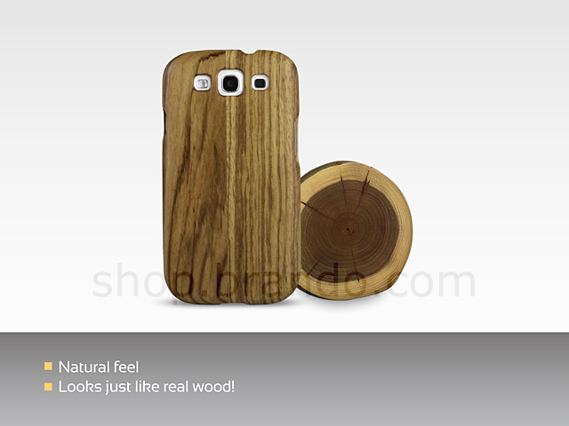 Samsung Galaxy S III I9300 Wooden Back Case