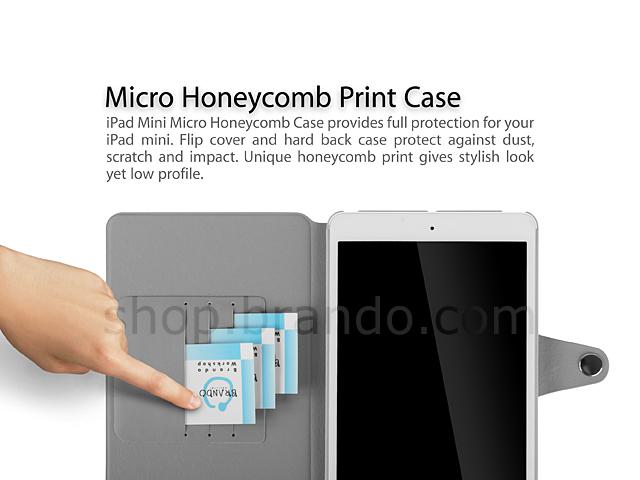 Ipad Mini Micro Honeycomb Print Case