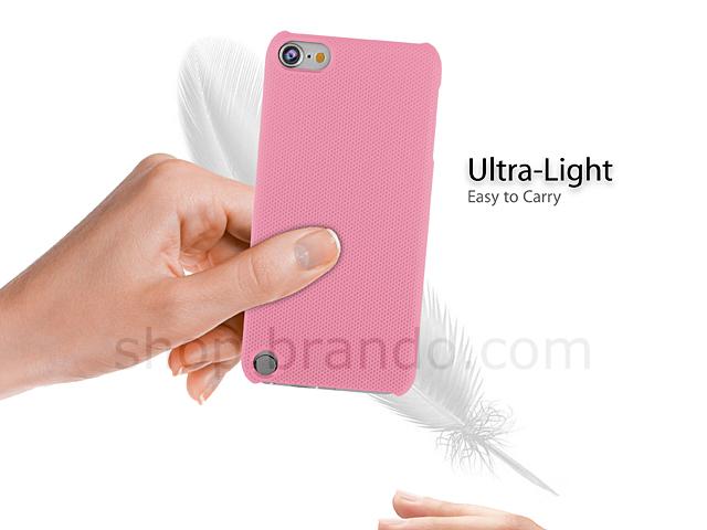 Ipod Touch 5g Metallic Like Plastic Back Case