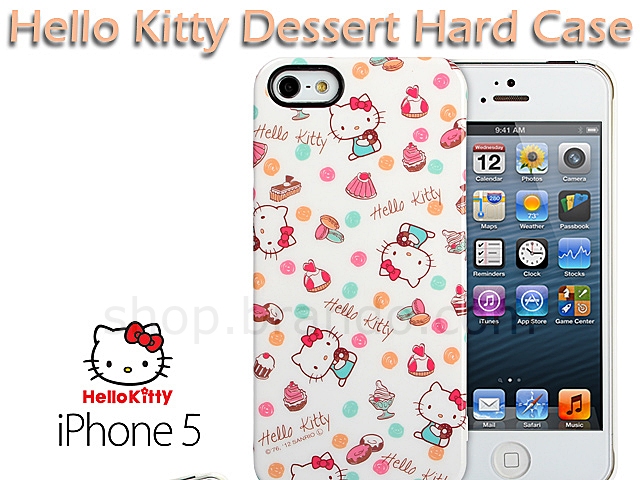 new arrival edaa9 df275 iPhone 5 / 5s Hello Kitty Dessert Hard Case (Limited Edition)