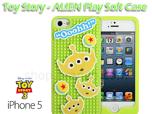 5 / 5S Toy Story - Alien Play Soft Case (Limited Edition)