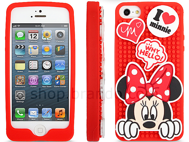 iPhone 5 / 5s Disney - Minnie Mouse Play Soft Case (Limited Edition)