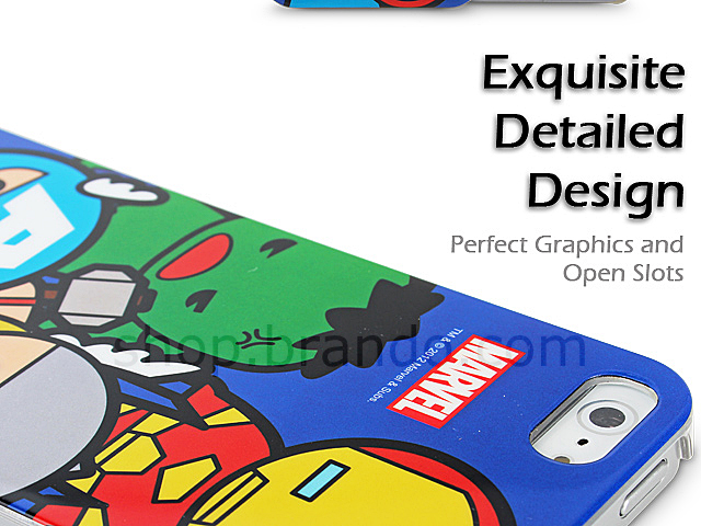 iPhone 5 / 5s The Cute Avengers Back Case (Limited Edition)