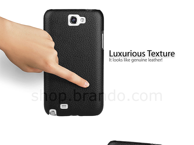 Samsung Galaxy Note II GT-N7100 Leather Back Case