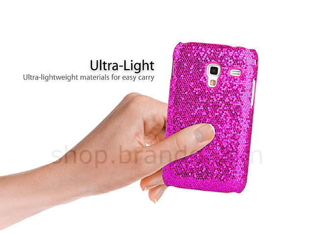 Samsung Galaxy Ace Plus GT-S7500 Glitter Plactic Hard Case