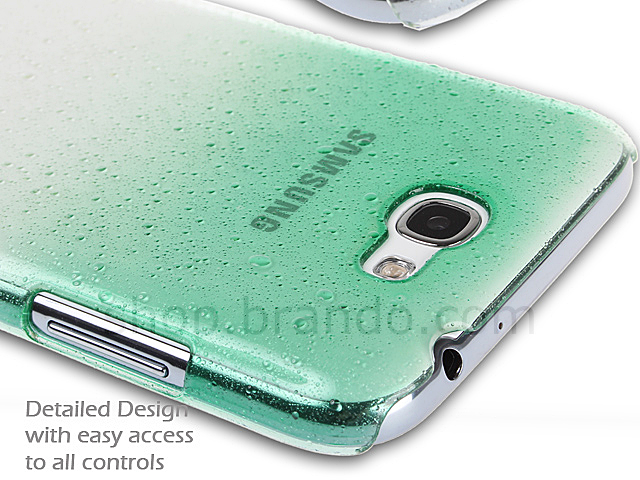 Samsung Galaxy Note II GT-N7100 Water Drop Back Case