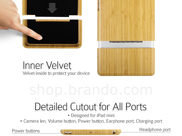 Bamboo iPad Mini Case