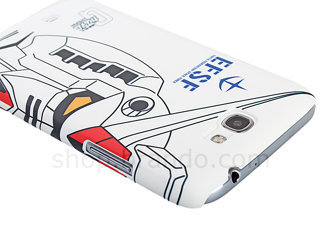 Samsung Galaxy Note II GT-N7100 RX-78-2 GUNDAM White Back Case (Limited Edition)