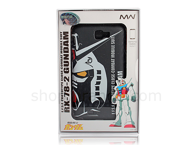 Samsung Galaxy Note II GT-N7100 RX-78-2 GUNDAM Black Back Case (Limited Edition)