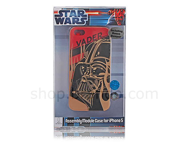 IPhone 5 / 5s Star Wars - Darth Vader Phone Case w/ Bonus Bumper (Limited Edition)