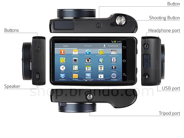 Samsung Galaxy Camera Ek Gc100 Soft Plastic Case