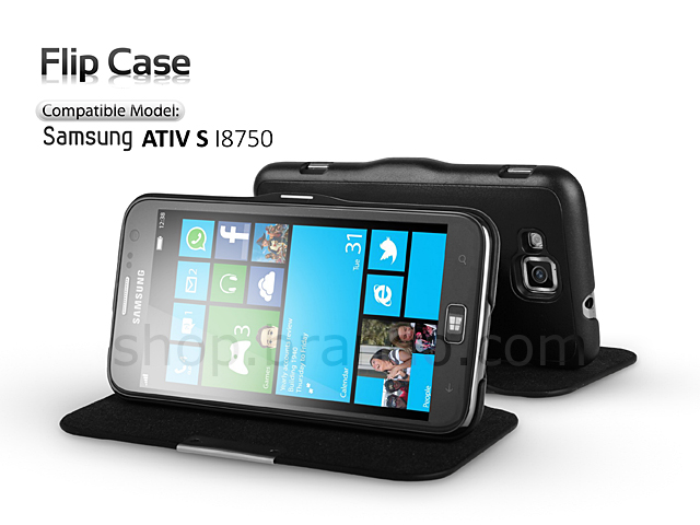 Flip Case for Samsung ATIV S I8750