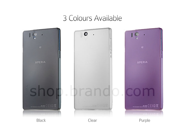 Simplism Ultra Thin Cover Set for Sony Xperia Z
