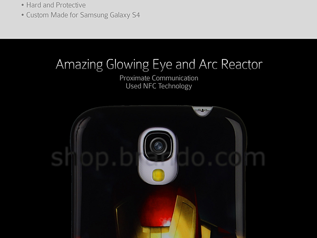 Samsung Galaxy S4 MARVEL Iron Man Beam Case
