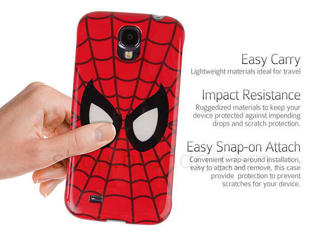 Samsung Galaxy S4 Marvel Spider Man Beam Case