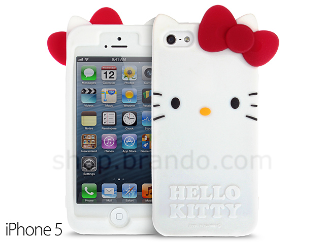 info for 15ba6 3a983 iPhone 5 / 5s Hello Kitty Soft Silicone Case (Limited Edition)
