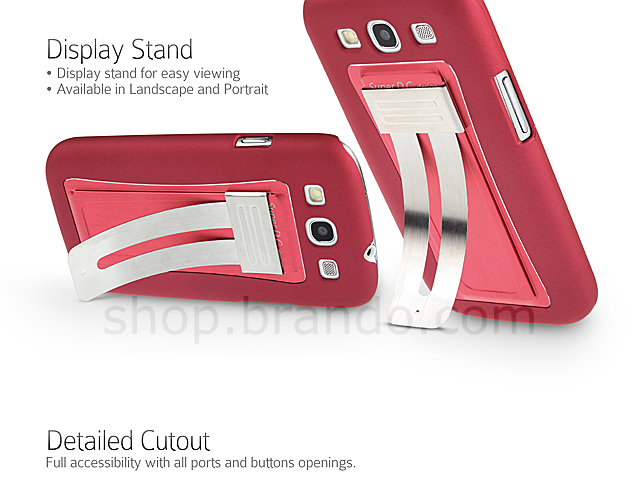 ArcStand Back Case for Samsung Galaxy S III I9300