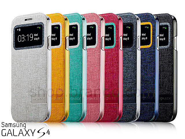 Momax Samsung Galaxy S4 Flip View Cover Case Limited Edition