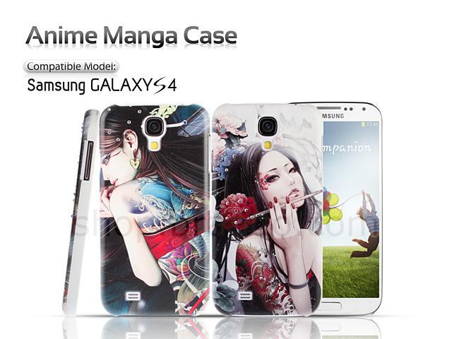 Samsung Galaxy S4 Anime Manga Case
