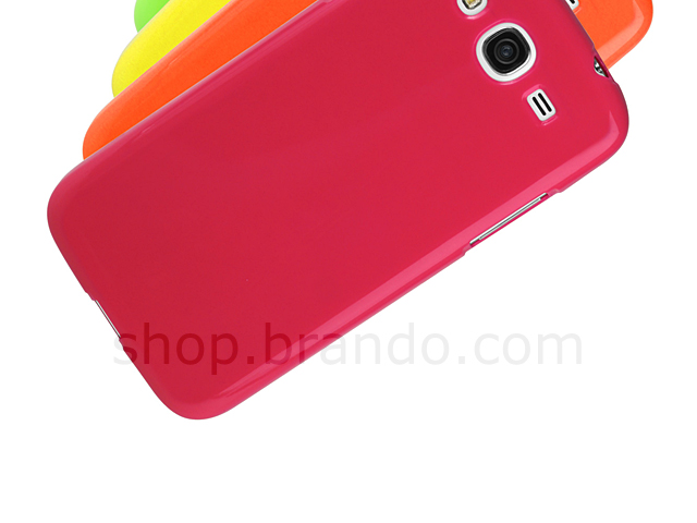 Samsung GALAXY Mega 5.8 DUOS Jelly Soft Plastic Case