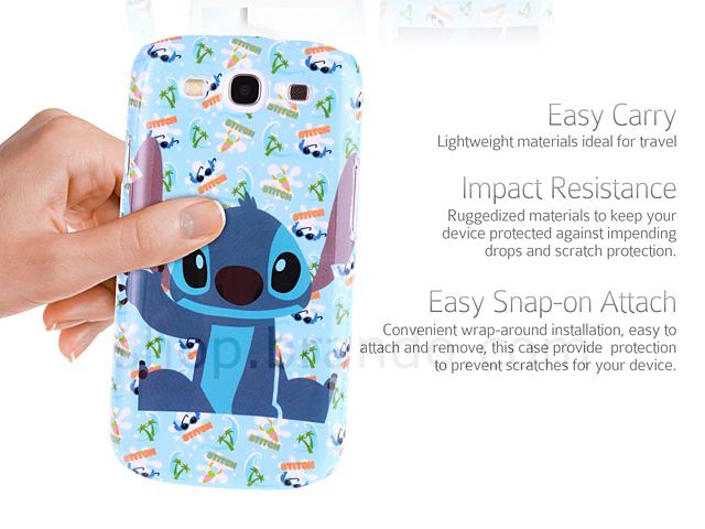 Samsung Galaxy S III Disney Stitch Back Case