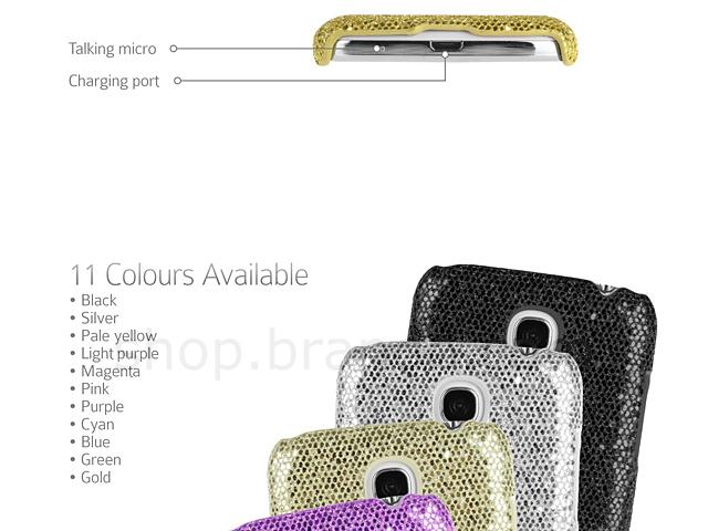 Samsung Galaxy S4 Mini Glitter Plactic Hard Case