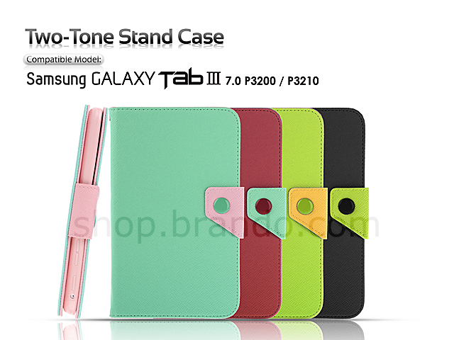 Samsung Galaxy Tab 3 7.0 P3200 / P3210 Two-Tone Stand Case
