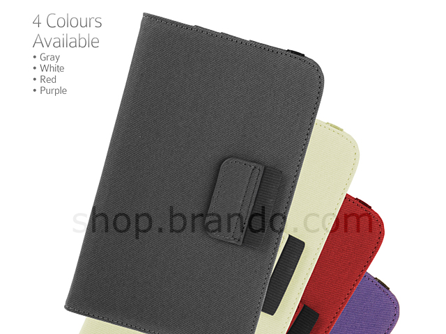 Samsung Galaxy Tab 3 7.0 P3200 / P3210 Rotate Stand Fabric Case
