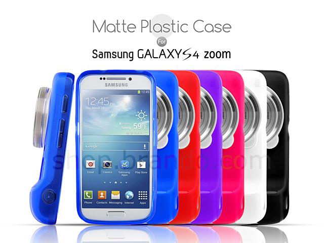 Samsung Galaxy S4 Zoom Matte Plastic Case