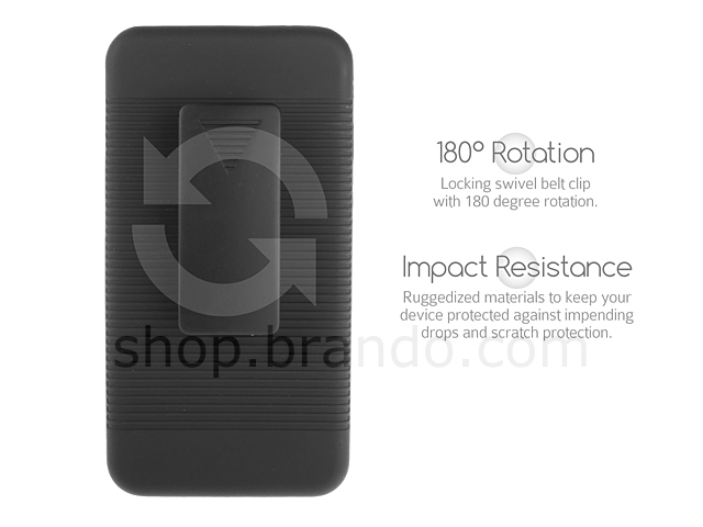 HTC One Protective Case with Holster