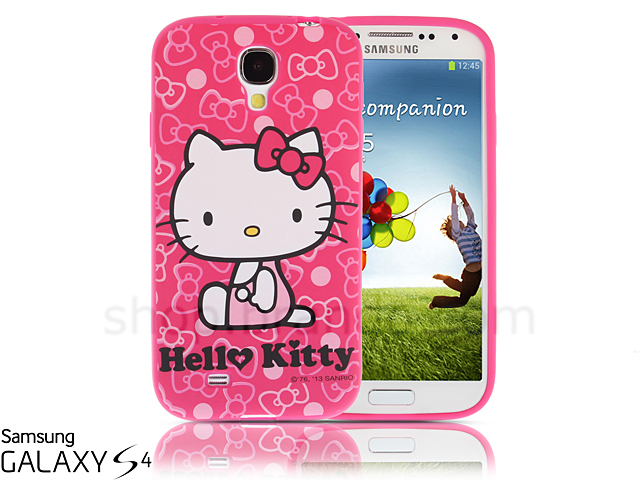 reputable site f94e4 45f53 Samsung Galaxy S4 Hello Kitty Peach Taffy Soft Silicone Case ...
