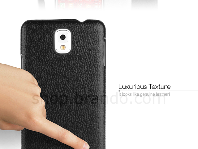 best sneakers c9cc3 59268 Samsung Galaxy Note 3 Leather Back Case