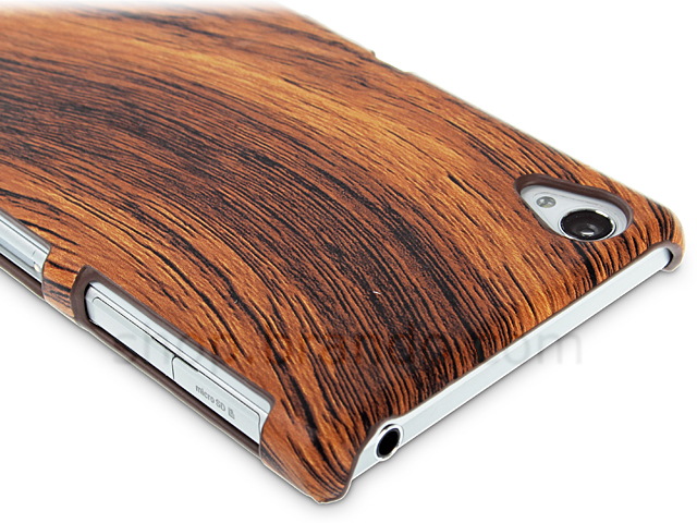 Sony Xperia Z1 Woody Patterned Back Case