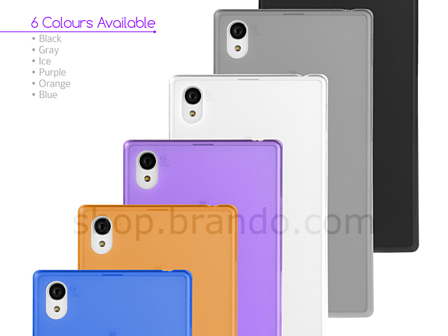 Matted Color Sony Xperia Z1 Soft Back Case