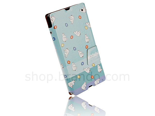 Sony Xperia Z MOOMIN - Floral Moomin Folio Case (Limited Edition)