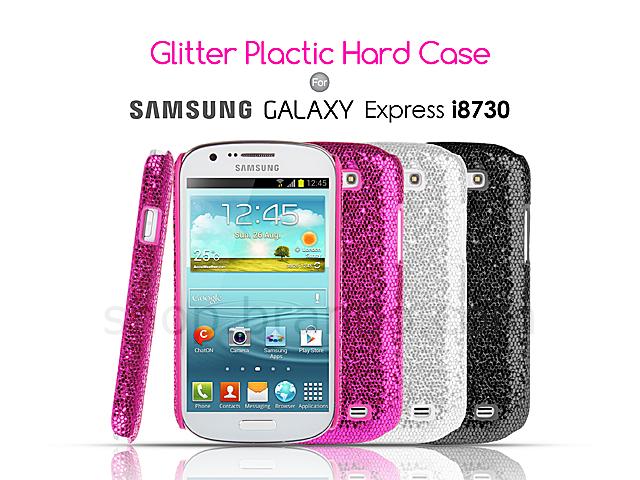 Samsung Galaxy Express I8730 Glitter Plactic Hard Case