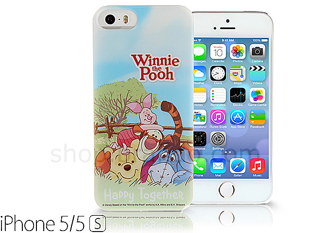 iPhone 5 / 5s Disney - Winnie the Pooh Happy Together Back Case ...