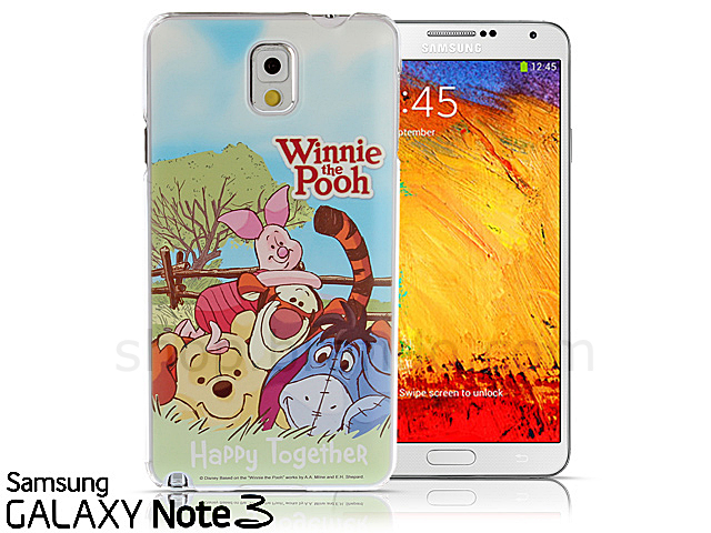 Samsung Galaxy Note 3 Disney Winnie The Pooh Happy Together Back