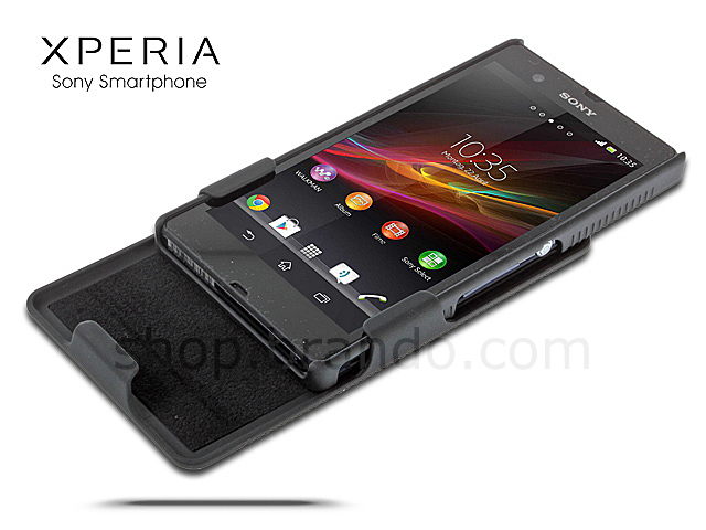 outlet store 99c7c c2ad1 Sony Xperia Z Protective Case with Holster