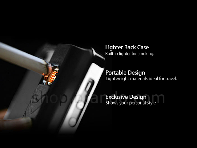 Iphone 5 5s Se Lighter Back Case