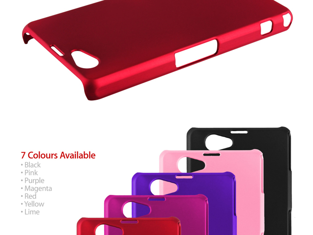 Sony Xperia Z1 Compact / Z1f Rubberized Back Hard Case